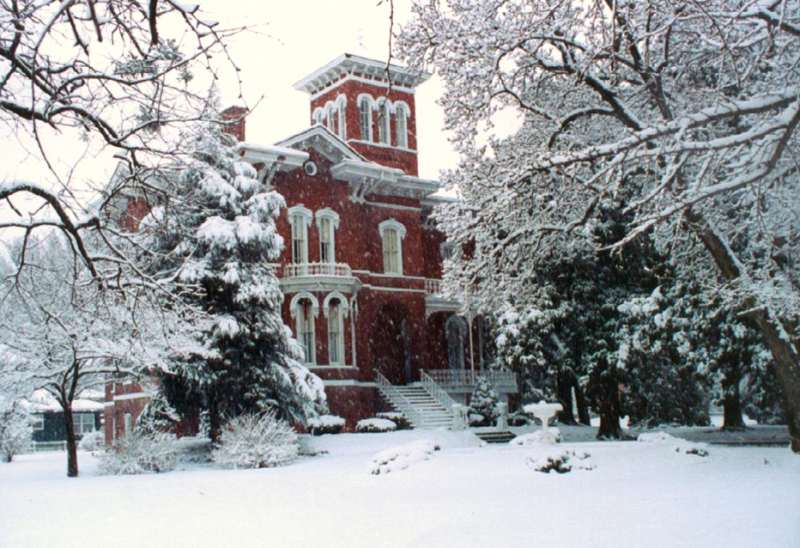 Magnolia Manor in the Winter
